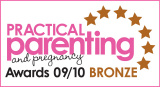 Winner of the 2010 Practical Parenting magazine Bronze Award